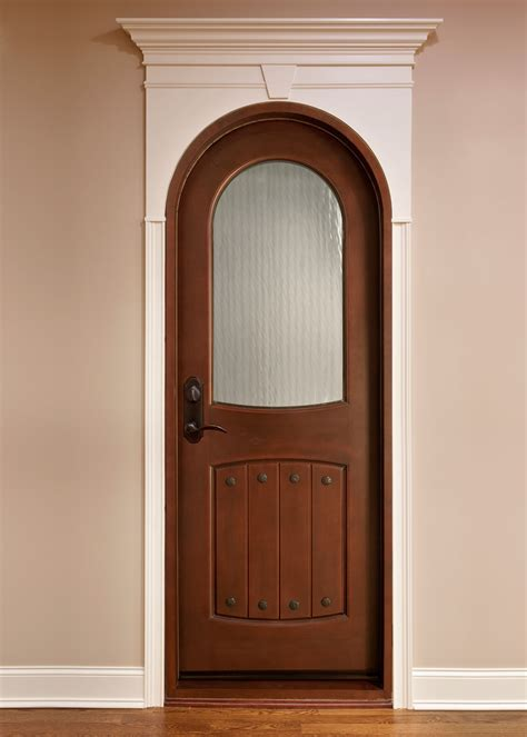 interior door custom single solid wood with medium
