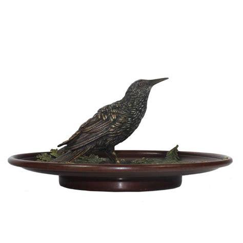 Bronze Bird L by Bird Inkwell By Bergman Vienna Bronze At 1stdibs