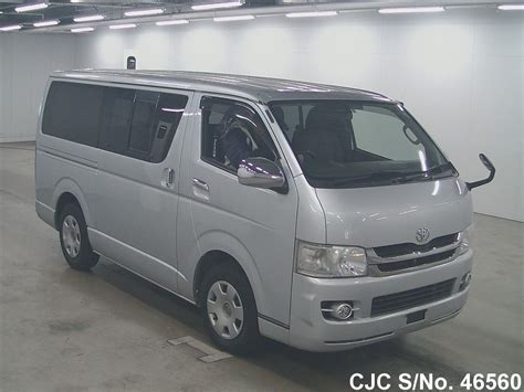 Toyota Hiace 2007 2007 Toyota Hiace Silver For Sale Stock No 46560
