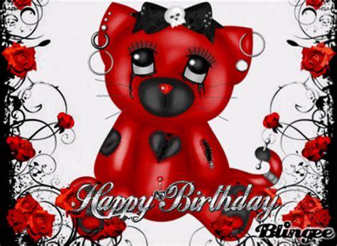 happy birthday cartoon emo mp3 download gothic birthday picture 127117004 blingee com