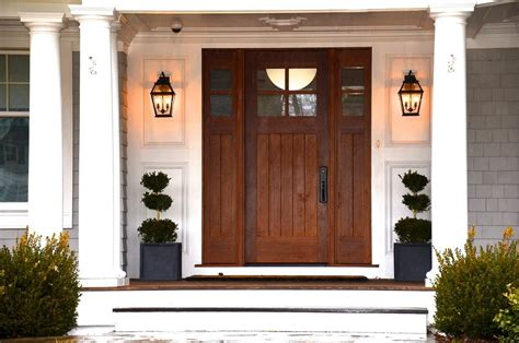 exterior front door lights column lighting outdoor entry beach style with outdoor
