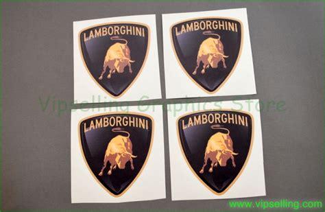 lamborghini logo sticker lamborghini logos emblem decals stickers set