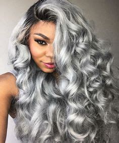 ladies new fashion trend alert grey hair weave is the new fad in cheap hair style wigs buy quality wigs for african