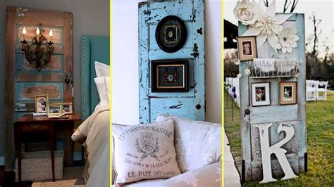 diy repurposed furniture ideas door recycling home