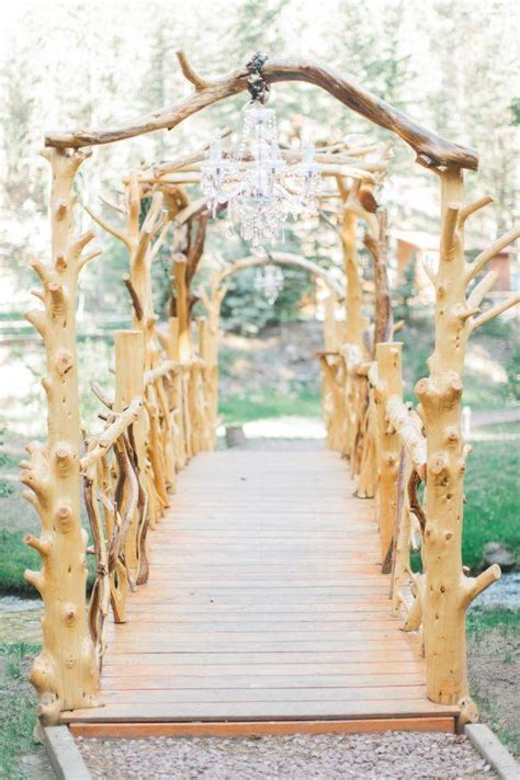 Wedding Aisle Decorations Rustic by 35 Rustic Backyard Wedding Decoration Ideas Deer Pearl