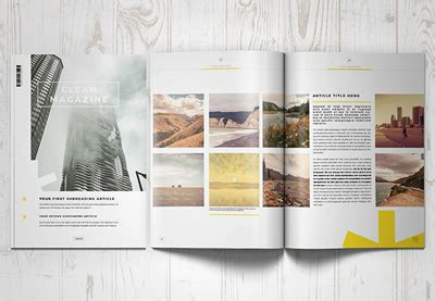 layout indesign inspiration 20 magazine templates with creative print layout designs