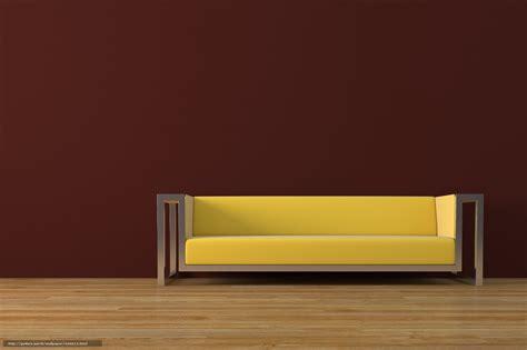 Wallpaper Furniture by Wallpaper Sofa Floor Furniture 3d Model Free