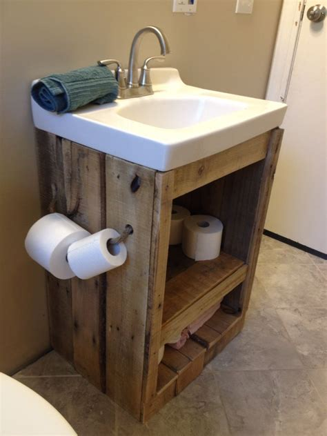bathroom vanity ideas pinterest pallet wood bathroom vanity sink bathroom ideas