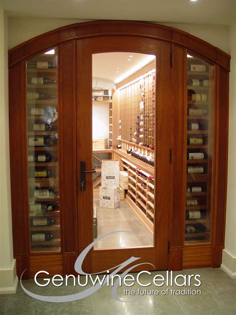wine cellar doors custom wine cellar doors genuwine cellars