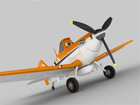 Dusty Crophopper 3D Model .max .obj .3ds .fbx .c4d .lwo