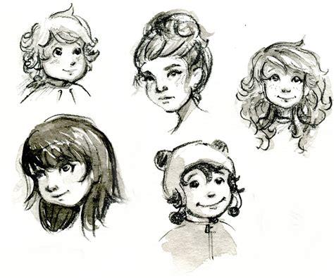 sketch book character children s book illustration casie sketches