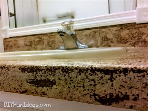 Concrete Overlay Countertops by Diy Concrete Counter Overlay Vanity Makeover