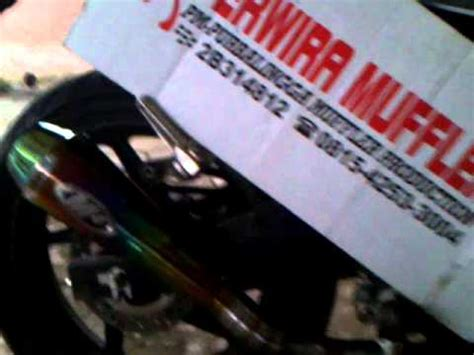 Kenalpot Racing Honda Cbr 150 R Akrapovic Rainbow Slip On High Peforma knalpot racing akrapovic new cbr 150 r ahm k45 lokal