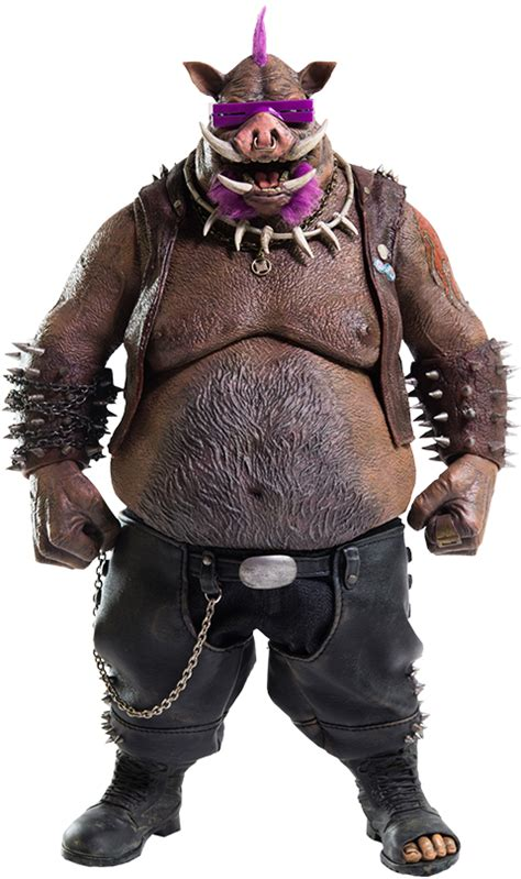tmnt bebop sixth scale figure by threezero sideshow