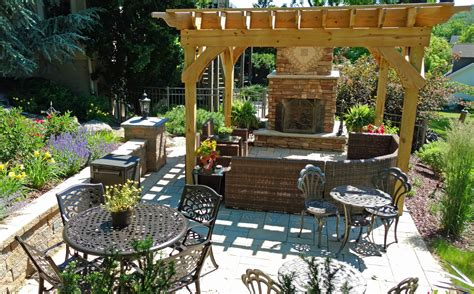 home garden design inc outdoor kitchen pergola home ideas