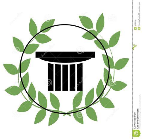 imagenes de simbolos griegos icono con los s 237 mbolos griegos imagen de archivo libre de