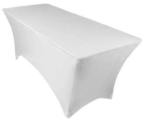 6ft table cloth 6ft fitted spandex lycra table cloth fitted trestle