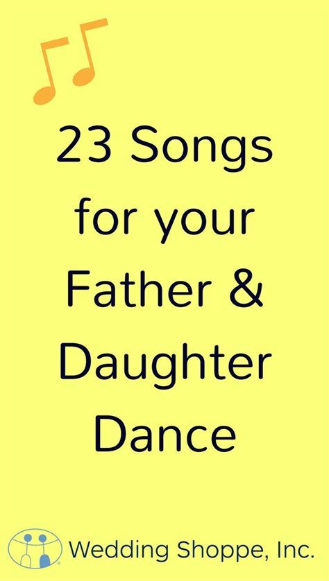 How to Choose a Father Daughter Dance Song (That?s Really