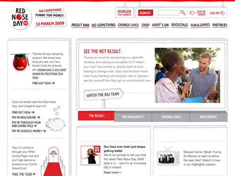 usability review of charity websites taking the lead