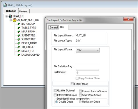 peoplesoft file layout definition table peoplesoft exles fscm 9 2 and peopletools 8 53