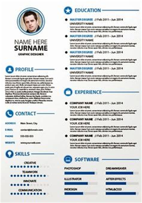 Plantilla De Curriculum Publisher 1000 Images About Resume Templates Plantillas On Free Creative Resume Templates