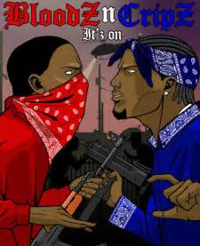 what color are crips the bloods and crips gangs of ohio