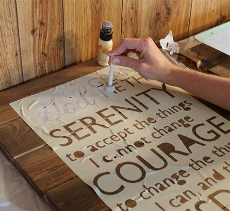 How To Make Stencils Out Of Paper - cut signs and stencils on