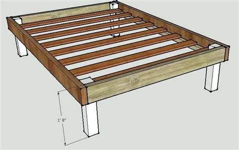 building your own bed frame wooden bed frame plans restate co