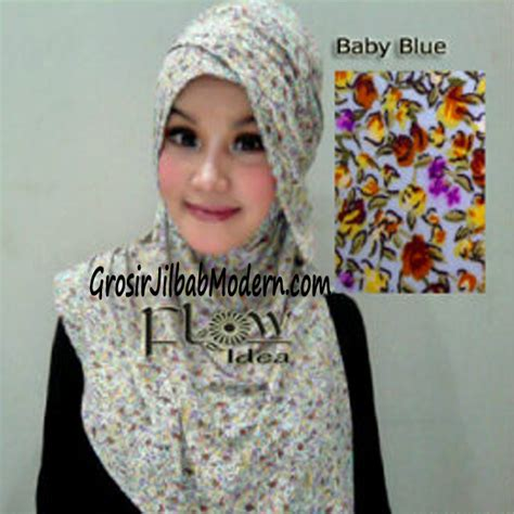 Jilbab Bergo Kerudung Anak Kecil Baby Pralala jilbab syria qianne by flow bunga kecil no 5 baby blue grosir jilbab modern jilbab cantik