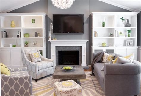 grey yellow green living room decorating with green 52 modern interiors to accentuate