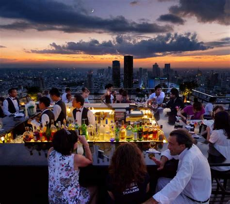 bangkok top rooftop bars sirocco restaurant bangkok thailand the best romantic