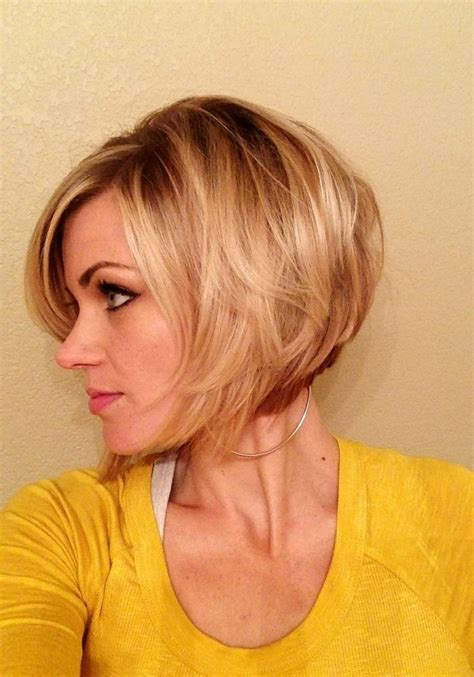 easy to keep feminine haircuts for 50 feminine short hairstyle for women the layered bob cut