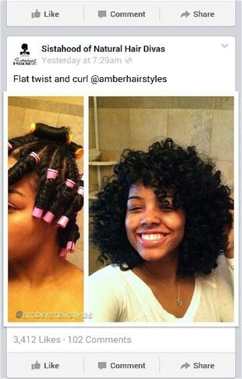 haircuts and hotrods gorgeous twist out and perm rods set girls with curls