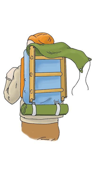 Daypack Kalibre Inventro backpack ladder peggy eddleman