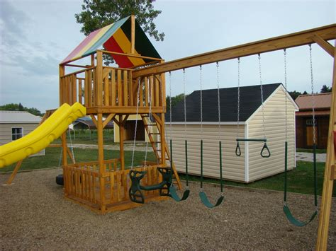 Backyard Buildings And Creations by Backyard Creations Ohio Outdoor Structures Llc
