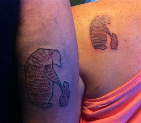 mother and son tattoos and tattoos