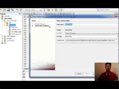 login form in java swing java swing tutorial 3 login frame form youtube