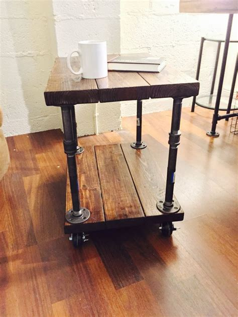 industrial pipe coffee table best 25 industrial side table ideas on