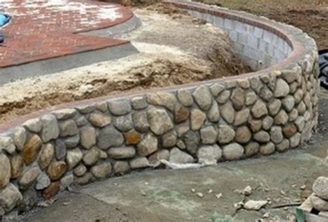 How To Build A Garden Stone Wall United Kingdom Cost Of Building A Garden Wall