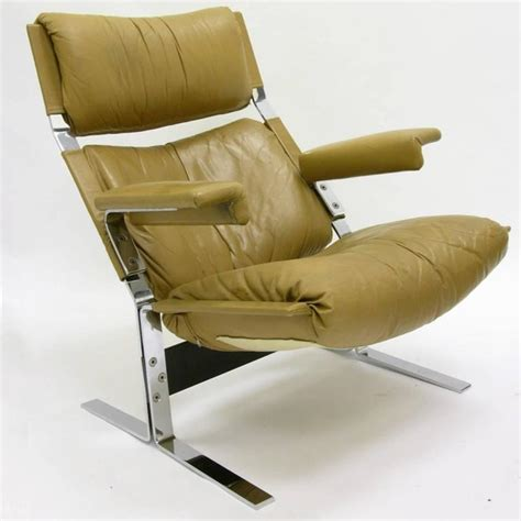comfortable chairs with ottomans comfortable steel and leather lounge chair and ottoman by