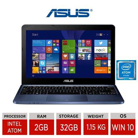 Asus 11 6 Laptop Intel Atom asus eeebook x205ta 11 6 quot light weight laptop intel atom z3735f 32gb windows 10 ebay