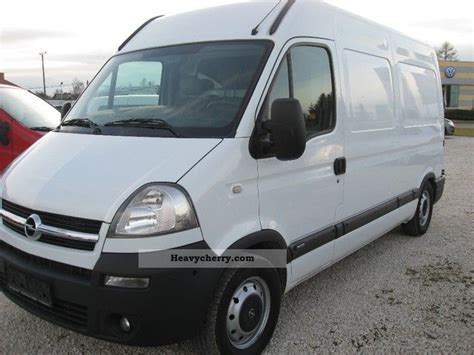 opel movano 2008 opel movano 2008 box type delivery van high and long