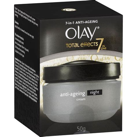 Olay Total Effect 7 In 1 olay total effects 7 in 1 anti ageing 50g