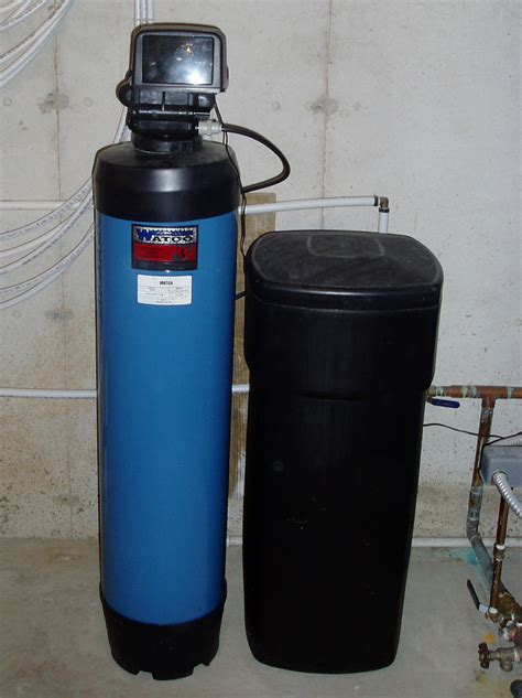 Plumbing Water Softener by Water Softener Exchanges Calcium And Magnesium For Diagram