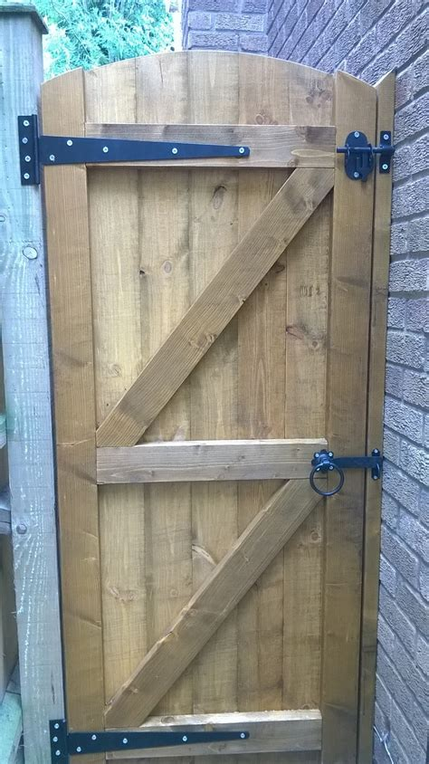 Door Gates by Wooden Garden Gates 800mm E Timber Products