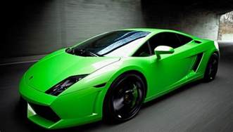 Cars Pic Green Cars