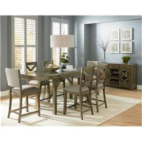 Furniture Upholstery Fayetteville Nc Standard Furniture Omaha Grey 6 Piece Counter Height