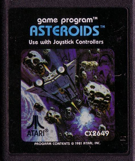 asteroids the atari 2600 journal books block erupters 4 sale