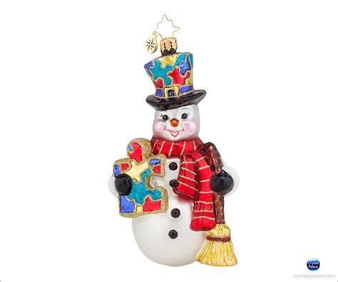 christopher radko ornaments 1017951 christopher radko snow memories