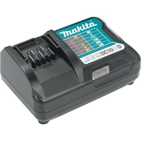 lithium ion battery charger makita 12 volt max cxt lithium ion battery charger dc10wd